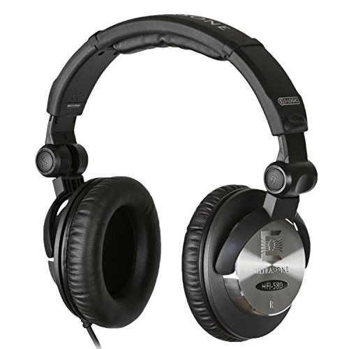 DJヘッドホン ヘッドフォン 海外 輸入 HFI-580 Ultrasone HFI-580 S-Logic Surround Sound Professional Closed-back Headphones with Transport BagDJヘッドホン ヘッドフォン 海外 輸入 HFI-580