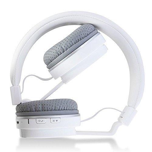 イヤホン 海外 輸入 Feicuan Bluetooth Wireless Earphone Headphone Headhand Folding Stereo Headset Universal for Phone Computer -Whiteイヤホン 海外 輸入