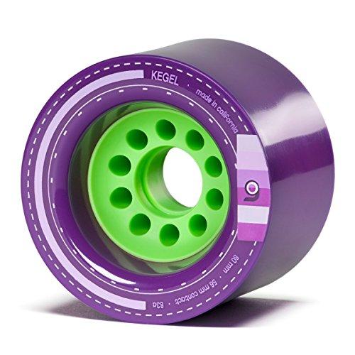 無料ラッピングでプレゼントや贈り物にも 送料無料カード決済可能 逆輸入並行輸入送料込 ウィール タイヤ スケボー スケートボード 海外モデル 送料無料 Orangatang Kegel 人気激安 80 mm 83a Downhill Loaded 4 Purple of Skateboard w Set Longboard Wheels V2 Bearings Cruising Jehu