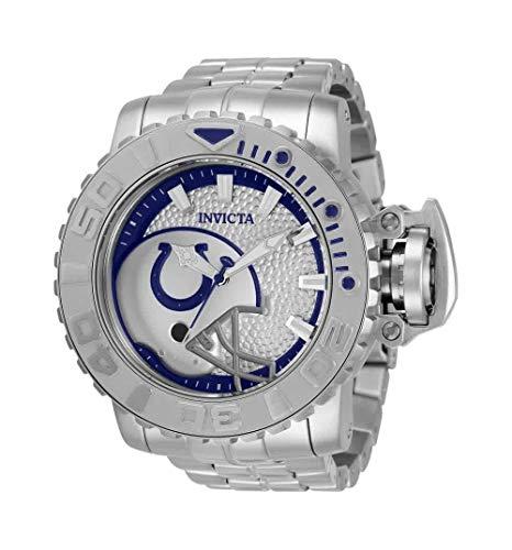 無料ラッピングでプレゼントや贈り物にも 逆輸入並行輸入送料込 高品質 腕時計 インヴィクタ 本日限定 インビクタ メンズ 送料無料 Invicta NFL Men's White Watch Dial Indianapolis 33009腕時計 Colts Automatic