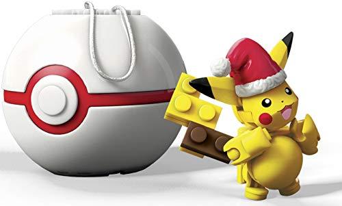 無料ラッピングでプレゼントや贈り物にも 逆輸入並行輸入送料込 メガブロック メガコンストラックス 組み立て 知育玩具 送料無料 現金特価 安心の実績 高価 買取 強化中 Santa Pokemon Setメガブロック Pikachu Building Construx Mega