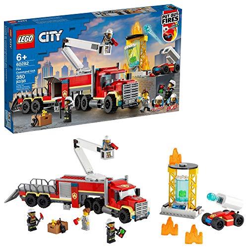無料ラッピングでプレゼントや贈り物にも 逆輸入並行輸入送料込 レゴ シティ 送料無料 LEGO City Fire Command Unit 60282 Building for Toy Pieces Fun 380 2021 ご注文で当日配送 新作 Set Kids New Kit; Firefighter