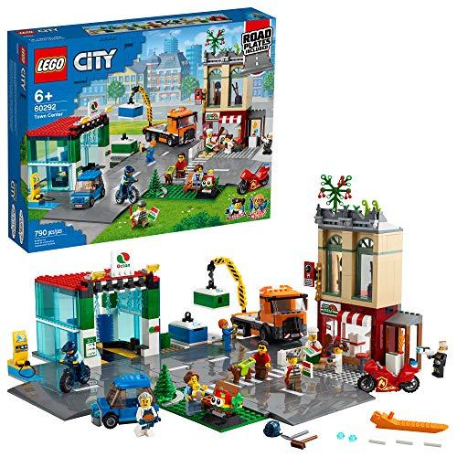 無料ラッピングでプレゼントや贈り物にも 割り引き 逆輸入並行輸入送料込 レゴ シティ 送料無料 LEGO City Town Center 60292 Building 一部地域を除く Kit; New Toy Kids for 790 Pieces 2021 Cool