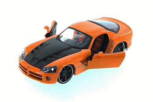 無料ラッピングでプレゼントや贈り物にも 逆輸入並行輸入送料込 ジャダトイズ ミニカー ダイキャスト アメリカ 送料無料 ブランド買うならブランドオフ 2008 Dodge Viper SRT10 Carジャダトイズ JADA Model Toy Orange 24 返品送料無料 1 Scale - Diecast 96805XN