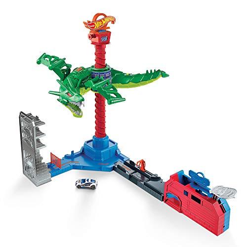 ホットウイール Air ホットウィール Dragon, Play Wheels ミニカー Setホットウィール マテル マテル 【送料無料】Hot ミニカー ホットウイール Attack
