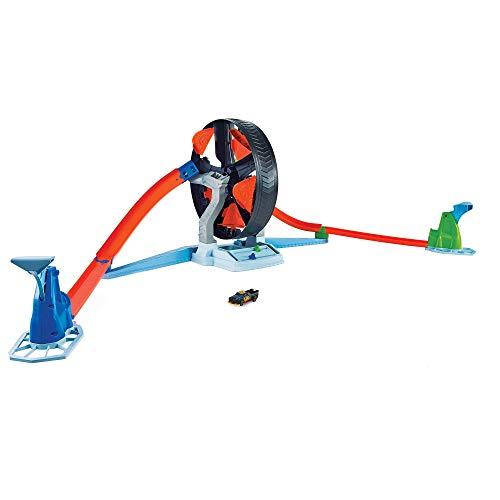 無料ラッピングでプレゼントや贈り物にも。逆輸入並行輸入送料込 ホットウィール マテル ミニカー ホットウイール 【送料無料】Hot Wheels Spinwheel Challenge Play Set for 5 Year Olds and Up, Multiホットウィール マテル ミニカー ホットウイール