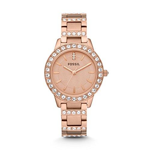 フォッシル 腕時計 レディース ES3020 【送料無料】Fossil Women's Jesse Quartz Stainless Steel Dress Watch, Color: Rose Gold-Tone (Model: ES3020)フォッシル 腕時計 レディース ES3020