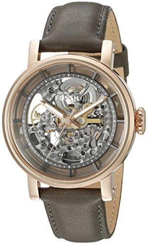フォッシル 腕時計 レディース ME3089 【送料無料】Fossil Women's Original Boyfriend Automatic Stainless Steel and Leather Casual Watch, Color: Rose Gold, Grey (Model: ME3089)フォッシル 腕時計 レディース ME3089