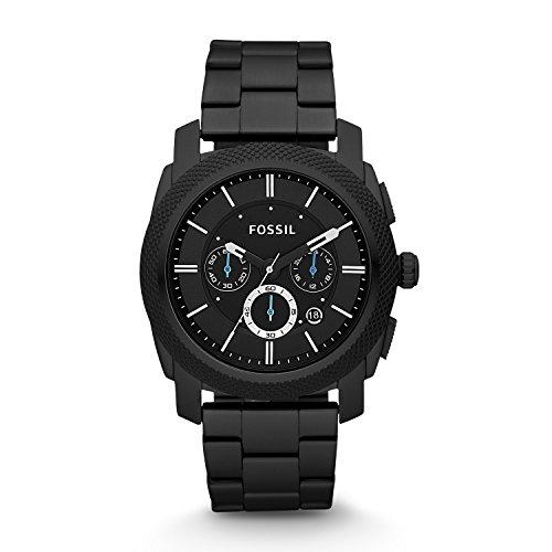 フォッシル 腕時計 メンズ FS4552 【送料無料】Fossil Men's Machine Quartz Stainless Steel Chronograph Watch, Color: Black (Model: FS4552)フォッシル 腕時計 メンズ FS4552