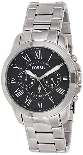 フォッシル 腕時計 メンズ FS4736 Fossil Men's Grant Quartz Stainless Steel Chronograph Watch Color: Silver (Model: FS4736IE)フォッシル 腕時計 メンズ FS4736