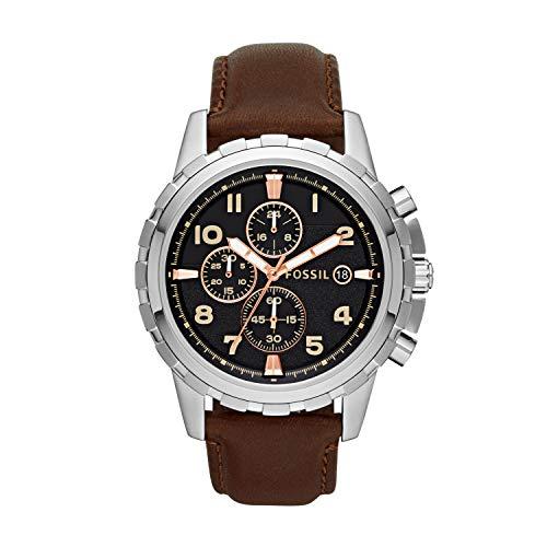 腕時計 フォッシル メンズ FS4828 【送料無料】Fossil Men's Dean Quartz Leather Chronograph Watch, Color: Brown (Model: FS4828)腕時計 フォッシル メンズ FS4828