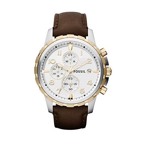 フォッシル 腕時計 メンズ FS4788 Fossil FS4788 Dean Chronograph Leather Watch - Brownフォッシル 腕時計 メンズ FS4788
