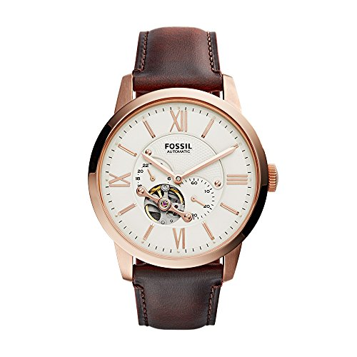フォッシル 腕時計 メンズ ME3105 【送料無料】Fossil Men's ME3105 Analog Display Automatic Self Wind Brown Watchフォッシル 腕時計 メンズ ME3105