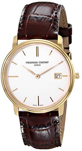 フレデリックコンスタント フレデリック・コンスタント 腕時計 メンズ FC220NW4S5 Frederique Constant Men's FC220NW4S5 Slim Line Analog Display Swiss Quartz Brown Watchフレデリックコンスタント フレデリック・コンスタント 腕時計 メンズ FC220NW4S5