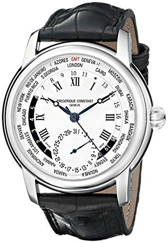 フレデリックコンスタント フレデリック・コンスタント 腕時計 メンズ FC718MC4H6 【送料無料】Frederique Constant World Timer Mens Designer Watchフレデリックコンスタント フレデリック・コンスタント 腕時計 メンズ FC718MC4H6