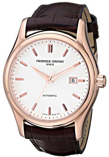 腕時計 フレデリックコンスタント メンズ FC-303V6B4 【送料無料】Frederique Constant Men's FC-303V6B4 Clear Vision Rosetone Case Brown Strap Watch腕時計 フレデリックコンスタント メンズ FC-303V6B4