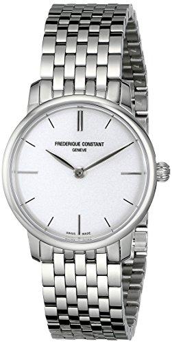 腕時計 フレデリックコンスタント レディース FC200S1S36B 【送料無料】Frederique Constant Women's FC200S1S36B Slim Line Analog Display Swiss Quartz Silver Watch腕時計 フレデリックコンスタント レディース FC200S1S36B