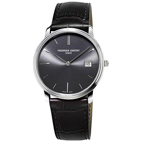腕時計 フレデリックコンスタント メンズ FC220NG4S6 【送料無料】Frederique Constant Men's FC220NG4S6 Slim Line Analog Display Swiss Quartz Black Watch腕時計 フレデリックコンスタント メンズ FC220NG4S6
