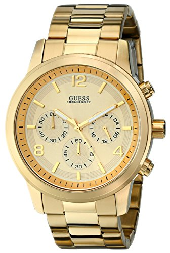 ゲス GUESS 腕時計 メンズ U15061G2 【送料無料】GUESS Men's U15061G2 Defining Style Gold-Tone Chronograph Watchゲス GUESS 腕時計 メンズ U15061G2