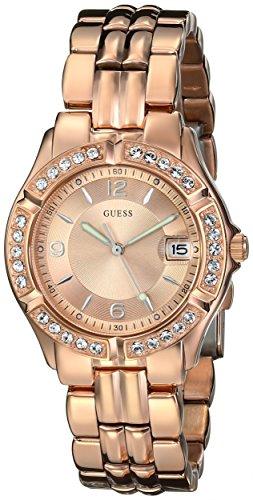 ゲス GUESS 腕時計 レディース U11069L1 GUESS Rose Gold-Tone Bracelet Watch with Date Feature. Color: Rose Gold-Tone (Model: U11069L1)ゲス GUESS 腕時計 レディース U11069L1