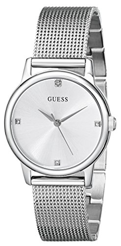 腕時計 ゲス GUESS レディース U0532L1 【送料無料】GUESS Genuine Diamond Dial Mesh Bracelet Watch. Color: Silver-Tone (Model: U0532L1)腕時計 ゲス GUESS レディース U0532L1