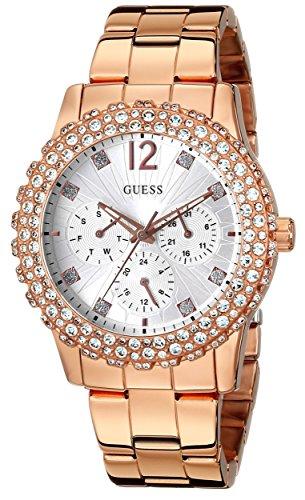 腕時計 ゲス GUESS レディース U0335L3 【送料無料】GUESS Women's U0335L3 Rose Gold-Tone Multi-Function Watch with Genuine Crystal Accented Case腕時計 ゲス GUESS レディース U0335L3