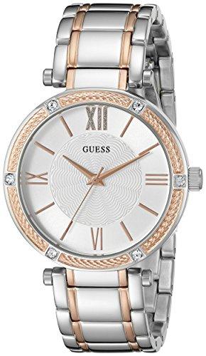 ゲス GUESS 腕時計 レディース U0636L1 【送料無料】GUESS Women's Stainless Steel Two-Tone Casual Watch, Color: Silver-Tone/Rose Gold-Tone (Model: U0636L1)ゲス GUESS 腕時計 レディース U0636L1