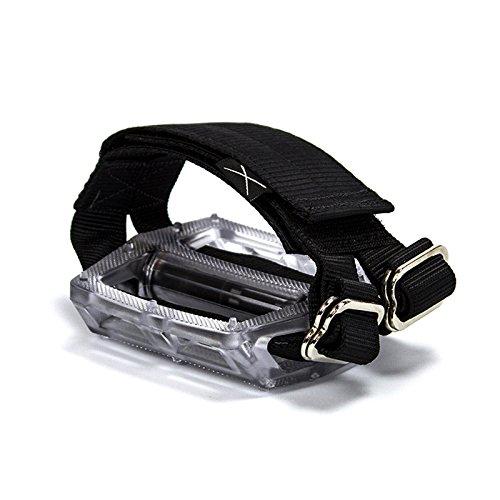 無料ラッピングでプレゼントや贈り物にも 逆輸入並行輸入送料込 ペダル パーツ 自転車 コンポーネント サイクリング RS_HRZ_STD_BLK 安心と信頼 返品交換不可 送料無料 Horizontal Gear Fixed - Cycling Straps Strapsペダル Fixie Bicycle Pedal Touring