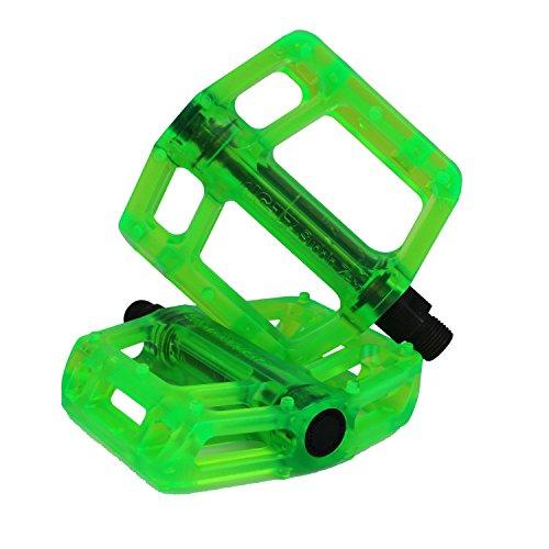 ペダル パーツ 自転車 コンポーネント サイクリング 7081 NC-17 CR44 Plastic Pro (Color: green) BMX Pedalペダル パーツ 自転車 コンポーネント サイクリング 7081