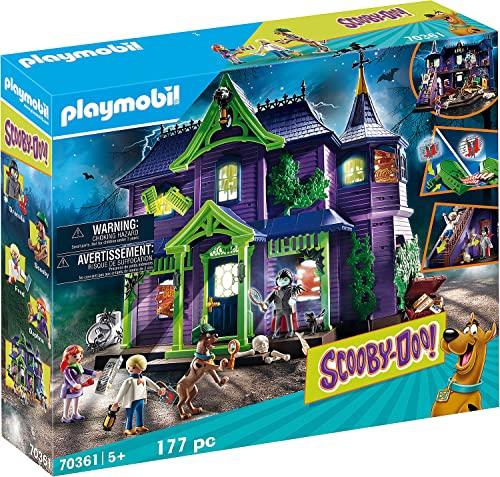 無料ラッピングでプレゼントや贈り物にも 逆輸入並行輸入送料込 プレイモービル ブロック 組み立て 返品交換不可 知育玩具 ドイツ 送料無料 Playsetプレイモービル キャンペーンもお見逃しなく Playmobil The Mystery in Mansion Scooby-DOO Adventure