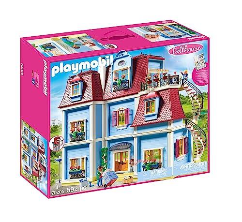 無料ラッピングでプレゼントや贈り物にも 逆輸入並行輸入送料込 プレイモービル ブロック 組み立て 知育玩具 ドイツ Dollhouseプレイモービル 海外並行輸入正規品 Large ギフト PLAYMOBIL 送料無料