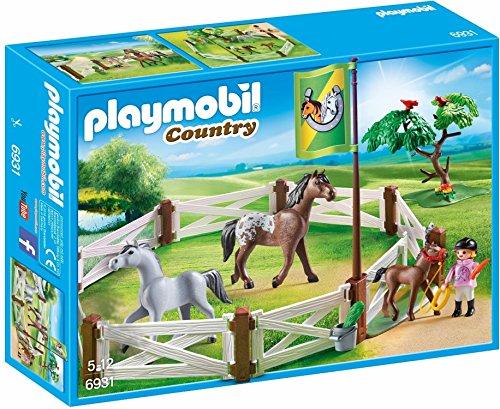 入荷予定 無料ラッピングでプレゼントや贈り物にも 逆輸入並行輸入送料込 プレイモービル ブロック 組み立て 知育玩具 ドイツ Paddock Building 送料無料 Horse Setプレイモービル PLAYMOBIL 格安 価格でご提供いたします