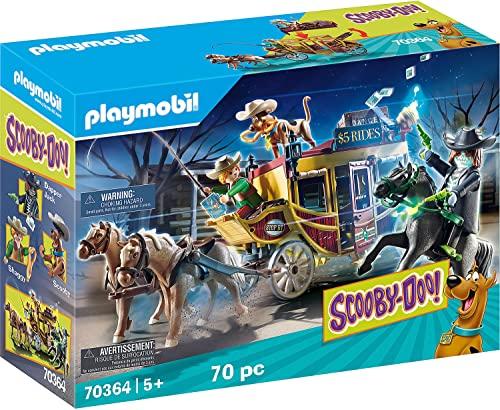 無料ラッピングでプレゼントや贈り物にも 逆輸入並行輸入送料込 プレイモービル ブロック 組み立て 知育玩具 ドイツ 送料無料 Scooby-DOO 保障 Playsetプレイモービル The ●手数料無料!! Wild West Adventure Playmobil in