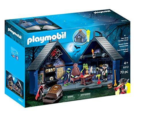 無料ラッピングでプレゼントや贈り物にも 逆輸入並行輸入送料込 おすすめ特集 爆売り プレイモービル ブロック 組み立て 知育玩具 ドイツ Houseプレイモービル Haunted PLAYMOBIL 送料無料 Along Take
