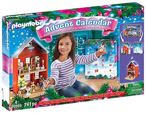 無料ラッピングでプレゼントや贈り物にも 逆輸入並行輸入送料込 プレイモービル ブロック 組み立て 知育玩具 ドイツ 送料無料 Playmobil 70383 ご注文で当日配送 Large - Christmas 2019プレイモービル Advent Town Calendar in New The House マート