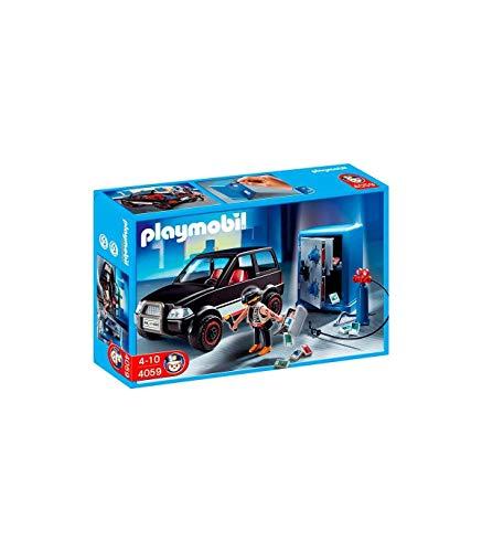 無料ラッピングでプレゼントや贈り物にも 逆輸入並行輸入送料込 プレイモービル ブロック 組み立て 出色 知育玩具 ドイツ 送料無料 Playmobil Getaway with Thief Safe and Carプレイモービル 限定特価