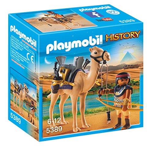 無料ラッピングでプレゼントや贈り物にも 毎日がバーゲンセール 逆輸入並行輸入送料込 限定モデル プレイモービル ブロック 組み立て 知育玩具 ドイツ Playmobil 送料無料 Camelプレイモービル Warrior Egyptian 5389 with