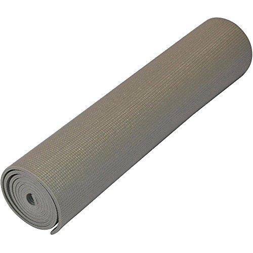 ヨガマット フィットネス 【送料無料】Yoga Direct Deluxe Extra Thick Yoga Sticky Mat, Gray, 1/4-Inchヨガマット フィットネス