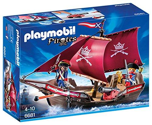 無料ラッピングでプレゼントや贈り物にも 逆輸入並行輸入送料込 プレイモービル ブロック 組み立て 知育玩具 1着でも送料無料 ドイツ 送料無料 ' Pirates Playmobil Boatプレイモービル Patrol 6681 送料無料限定セール中 Floating