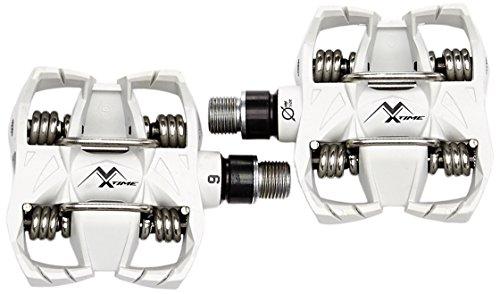 ペダル パーツ 自転車 コンポーネント サイクリング 1011-----0070 Time Atac MX6 clipless pedals whiteペダル パーツ 自転車 コンポーネント サイクリング 1011-----0070