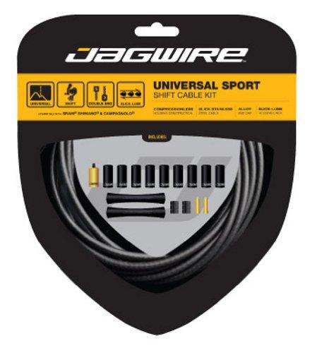 ブレーキ パーツ 自転車 コンポーネント サイクリング UCK420 Jagwire Universal Sport Brake Kit Black w/ Reflective Stripeブレーキ パーツ 自転車 コンポーネント サイクリング UCK420