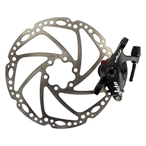 ブレーキ パーツ 自転車 コンポーネント サイクリング Spyke TRP Spyke Alloy Mechanical Disc Brake Caliper includes 160mm Rotor, Blackブレーキ パーツ 自転車 コンポーネント サイクリング Spyke