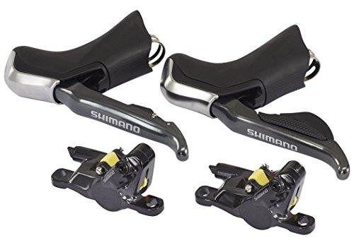 ブレーキ パーツ 自転車 コンポーネント サイクリング Shimano Non-Series Di2 ST-R785 hydraulic disc brake Di2 E-tube STI set, with RS785 callipers, pairブレーキ パーツ 自転車 コンポーネント サイクリング