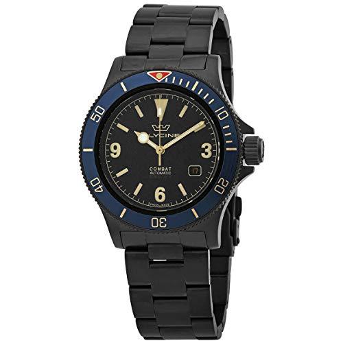 腕時計 グリシン スイスウォッチ メンズ グライシン 【送料無料】Glycine Combat Automatic Black Dial Men's Watch GL0291腕時計 グリシン スイスウォッチ メンズ グライシン