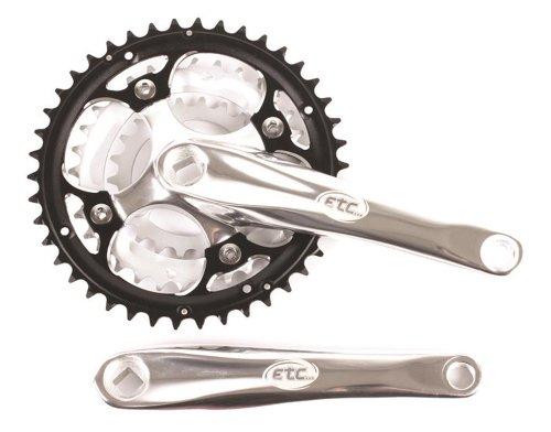 クランク パーツ 自転車 コンポーネント サイクリング ECW040 ETC 42/32/22T Chain Set - Multi-Coloured, 175 mm byクランク パーツ 自転車 コンポーネント サイクリング ECW040
