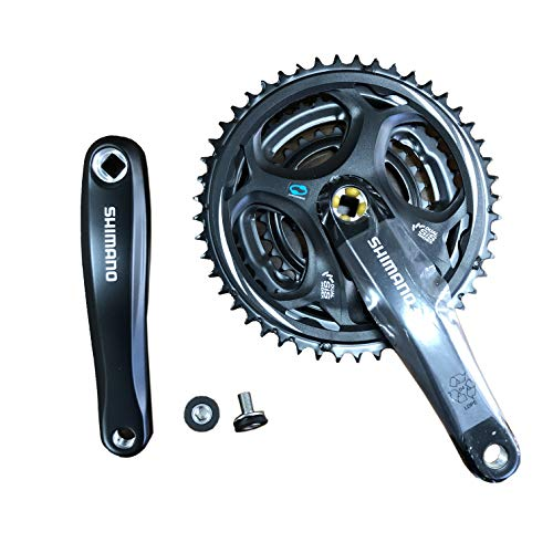 クランク パーツ 自転車 コンポーネント サイクリング EFCM311C888XL SHIMANO (Shimano) Without Crank Set Guard 48-38-28T Altus FC-M311 170mm Black EFCM311C888XLクランク パーツ 自転車 コンポーネント サイクリング EFCM311C888XL