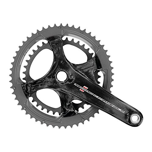 クランク パーツ 自転車 コンポーネント サイクリング 210177 Campagnolo CPY Record UT 11S Crankset, Carbon, 172 x 50-34クランク パーツ 自転車 コンポーネント サイクリング 210177