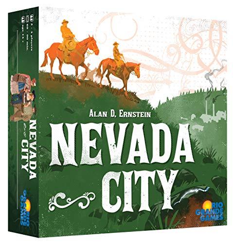 ボードゲーム 英語 アメリカ 海外ゲーム 【送料無料】Rio Grande Games Nevada City Board Gameボードゲーム 英語 アメリカ 海外ゲーム