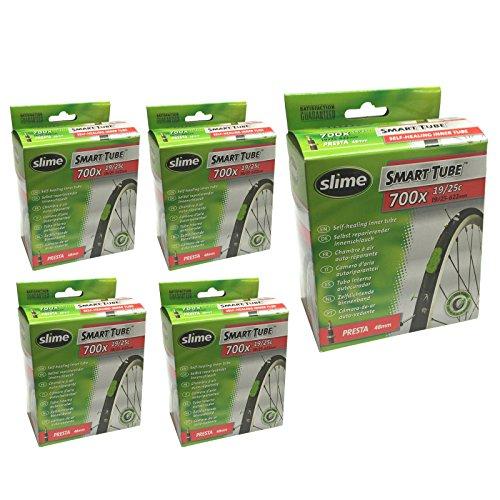 チューブ パーツ 自転車 コンポーネント サイクリング Slime Smart Tube Self Healing 700c x 19-25 Presta Inner Tubes by Slimeチューブ パーツ 自転車 コンポーネント サイクリング