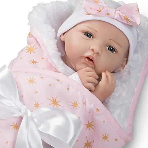 無料ラッピングでプレゼントや贈り物にも。逆輸入並行輸入送料込 パラダイスギャラリーズ 赤ちゃん リアル 本物そっくり おままごと 【送料無料】Paradise Galleries Real Life Baby Doll Born to Sparkle, 19 inch Reborn Baby Girl Crafted in Silicone-Like パラダイスギャラリーズ 赤ちゃん リアル 本物そっくり おままごと